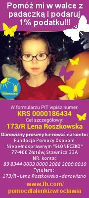 Pomoż Lence z Wrocławia
